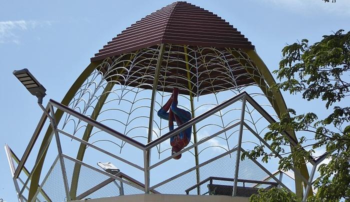 spiderman in thailand