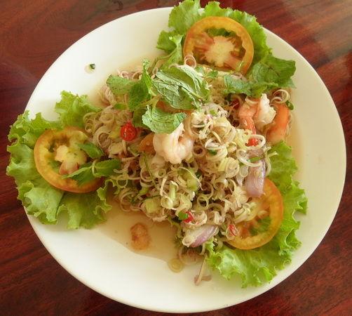 scharfer Salat