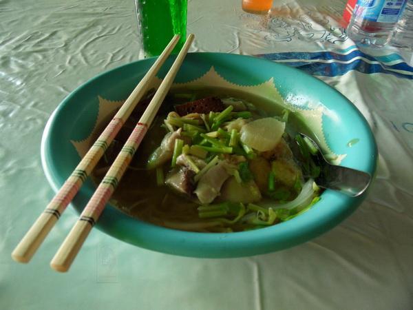 kutiau-suppe