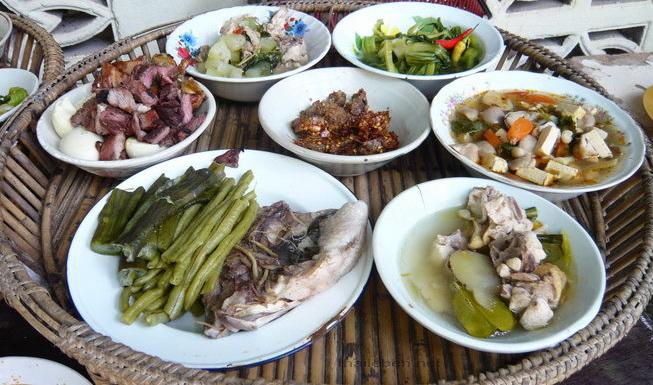 diverses essen für mönche
