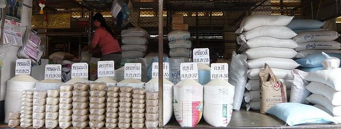 Reishandel in Thailand